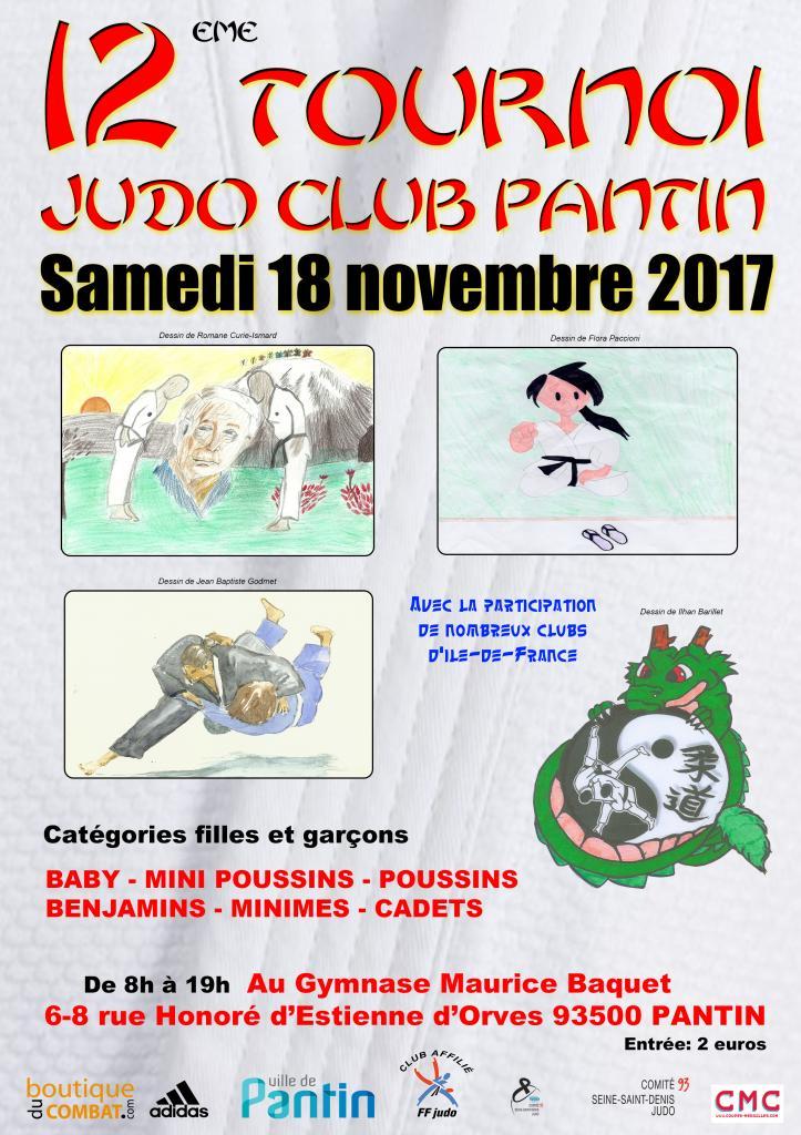 12 eme TOURNOI JUDO CLUB PANTIN