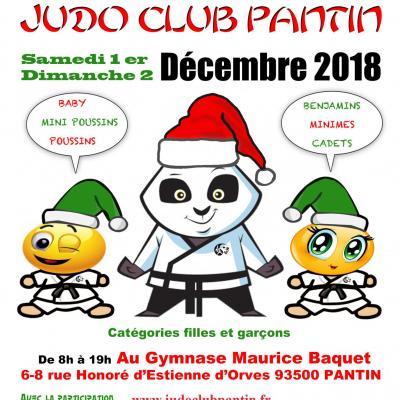 13 eme TOURNOI JUDO CLUB PANTIN