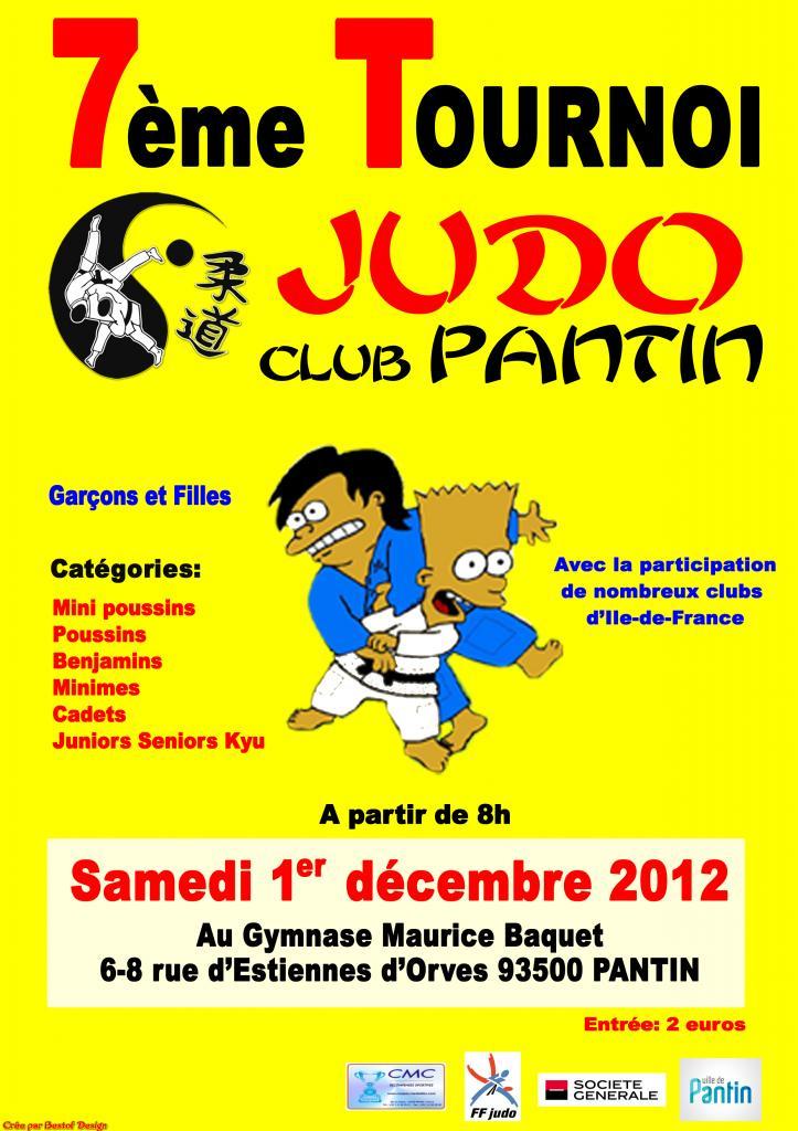club judo pantin