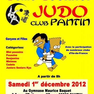 7e TOURNOI JUDO CLUB PANTIN