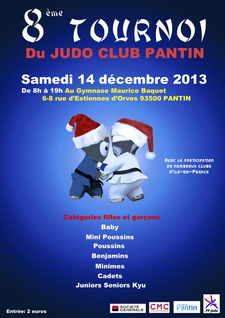 8e TOURNOI JUDO CLUB PANTIN