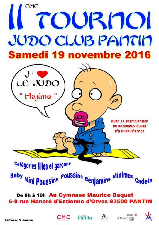 11e TOURNOI JUDO CLUB PANTIN