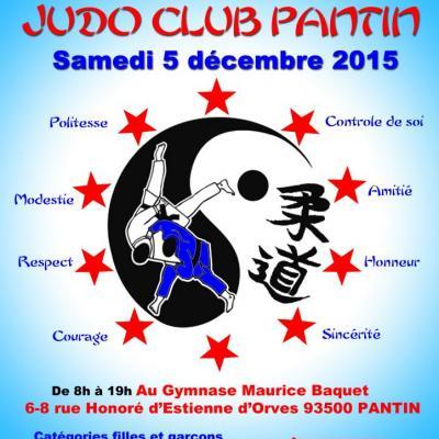 10e TOURNOI JUDO CLUB PANTIN