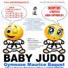 recto AFFICHE A4 BABY JUDO BAQUET 2018-2019