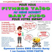 recto AFFICHE A4 FITNESS TAISO 2018-2019