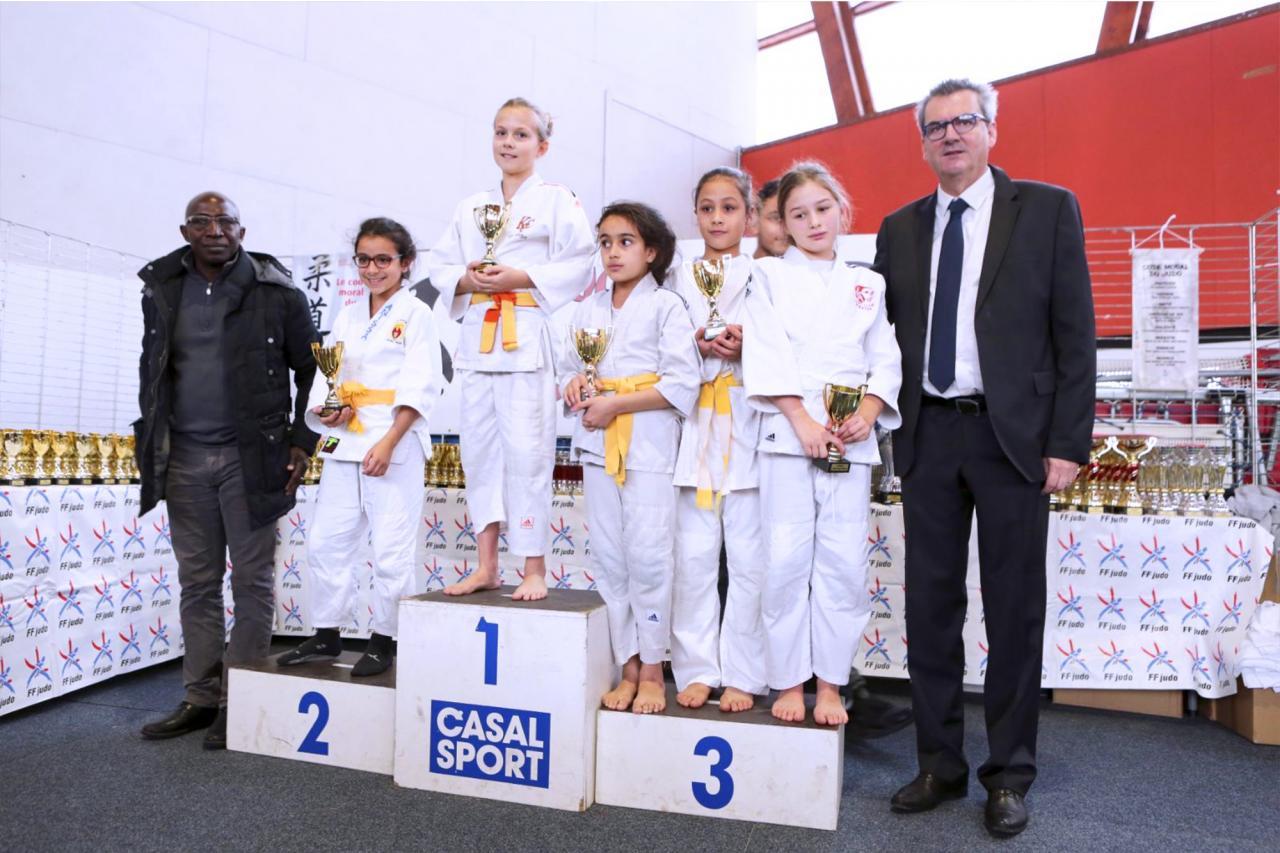 12ème Tournoi Judo Club Pantin