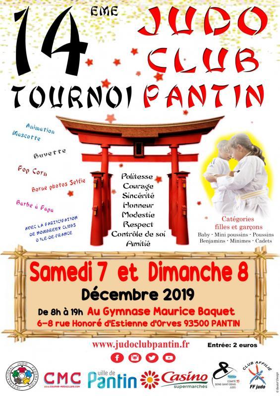 14 eme tournoi a4 2019 judo club pantin