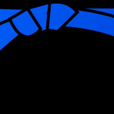 ceinture bleu