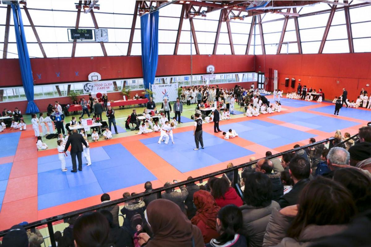 12 ème Tournoi Judo Club Pantin 22