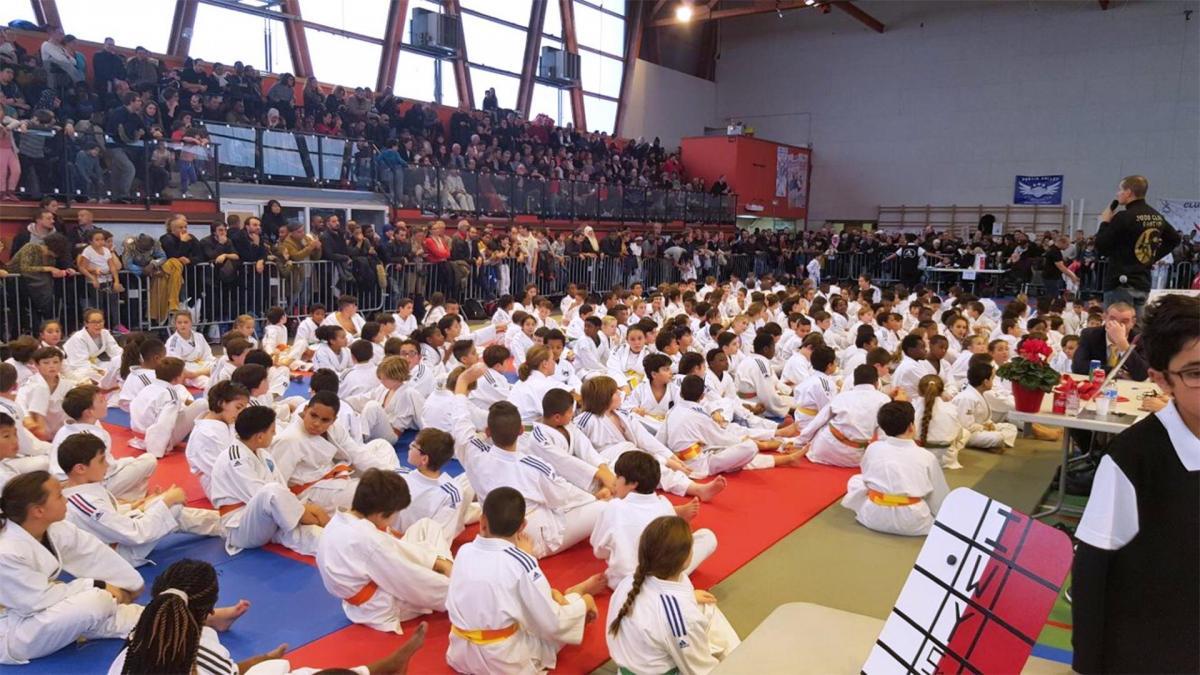 12 ème Tournoi Judo Club Pantin 1
