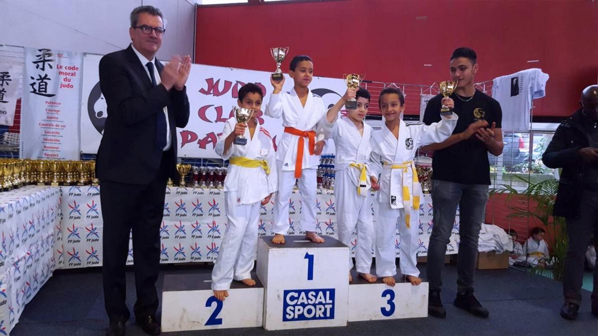 12 ème Tournoi Judo Club Pantin 9